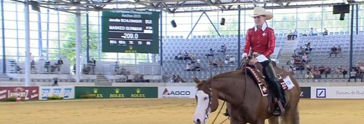 EM Aachen 2015 – Reining: The show goes on...