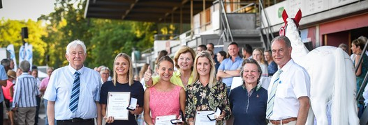 Remise de la distinction Dressage Elite à Bâle