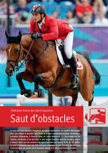 """Saut d'obstacles"" – Portrait de la discipline saut d'obstacles"
