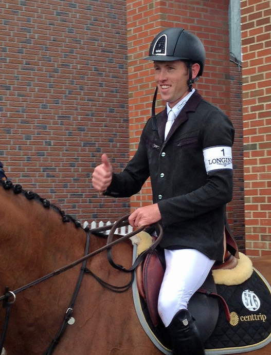 Scott Brash avec Hello Sanctos