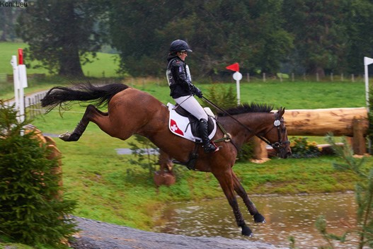 Jasmin Gambirasio und That's It an der EM 2015 in Blair Castle (GBR).
