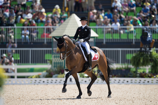 Marcela Krinke Susmelj et smeyers Molberg, ici à Rio. Photo: FEI/Dirk Caremans