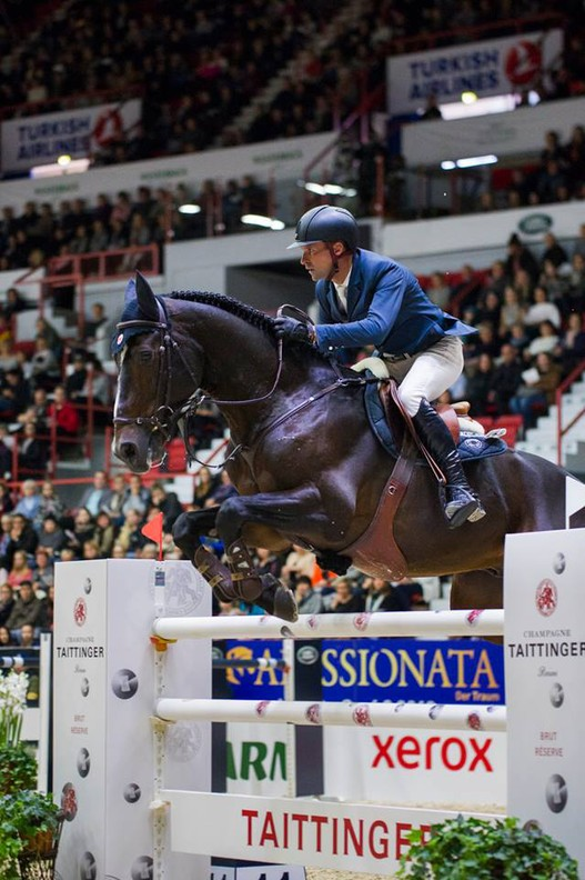 Romain Duguet et Vancouver de Lanlore (Photo: Helsinki International Horseshow)