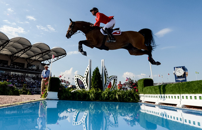 FEI World Equestrian Games™ Tryon USA Steve Guerdat of Switzerland on BiancaPhoto FEI/Martin Dokoupil