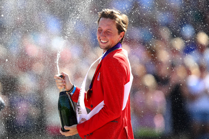Martin Fuchs, le nouveau Champion d'Europe (Photo: FEI)