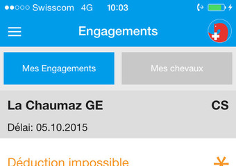 Mes engagements