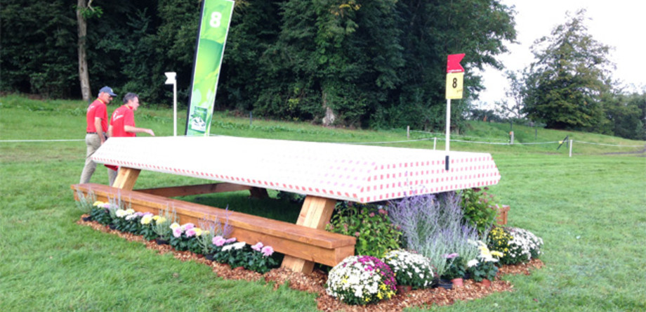 WEG Normandy 2014 Crosshindernisse